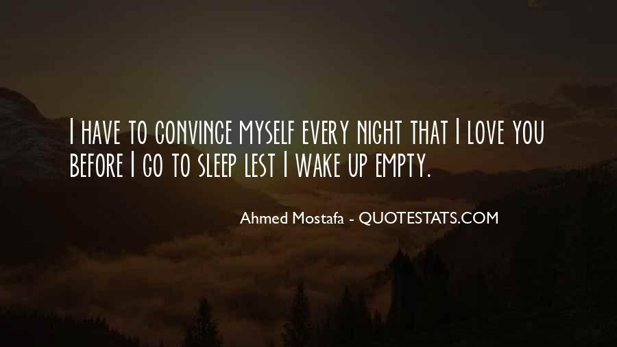 Before You Sleep Quotes #688281