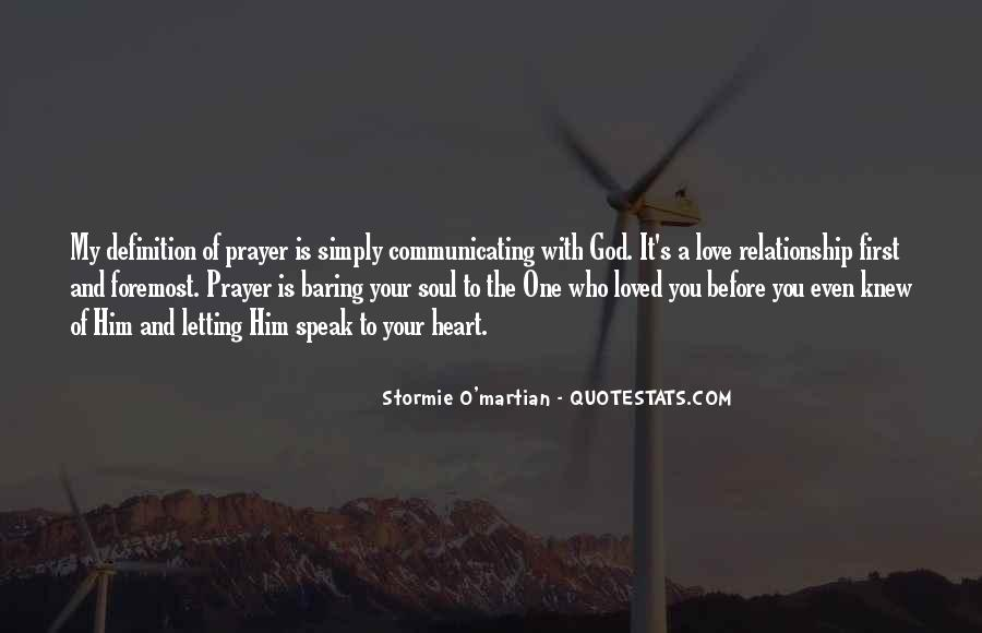 Before You Speak Quotes #1189076