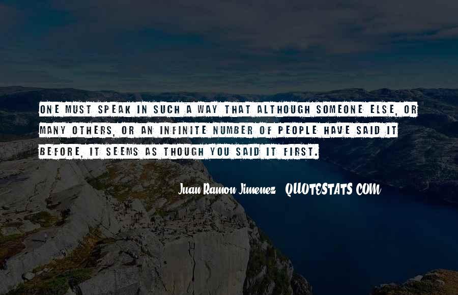 Before You Speak Quotes #610282