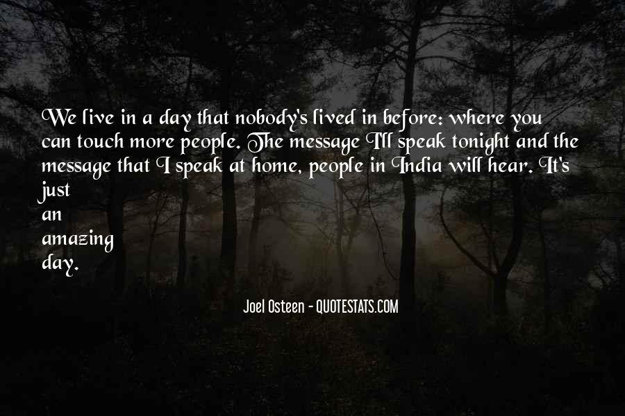 Before You Speak Quotes #745270