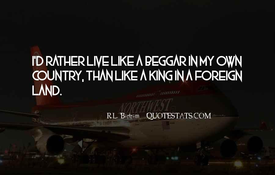 Beggar King Quotes #1154384