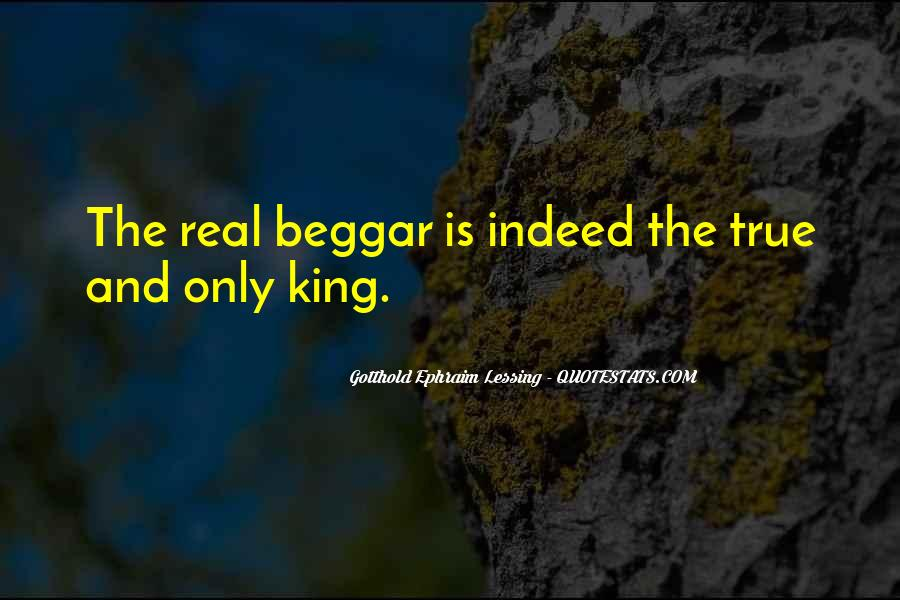 Beggar King Quotes #1453357