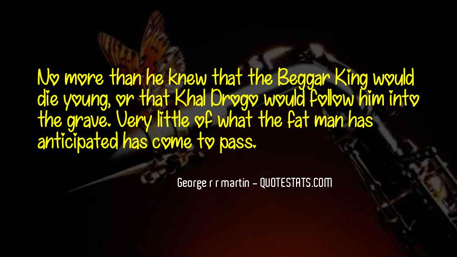 Beggar King Quotes #1512781