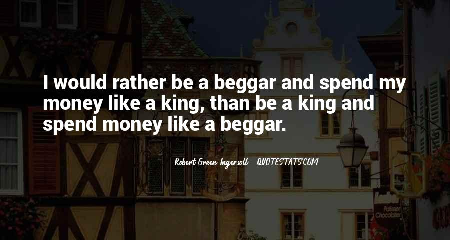 Beggar King Quotes #154210