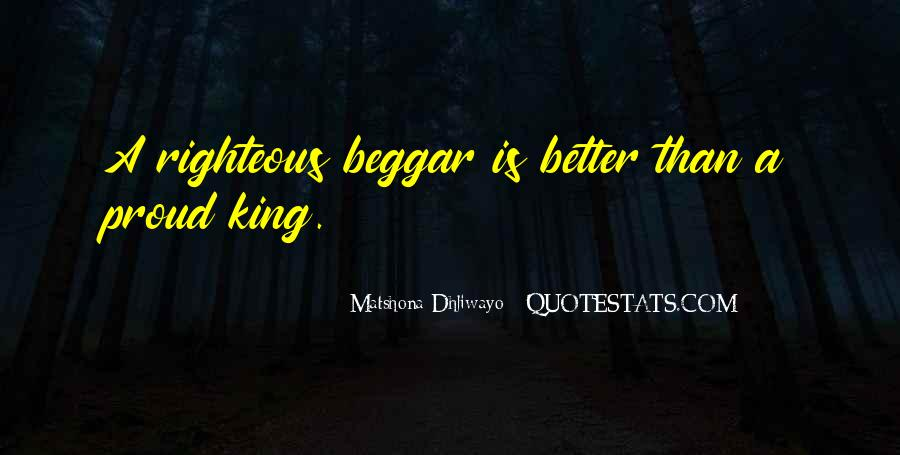 Beggar King Quotes #44411