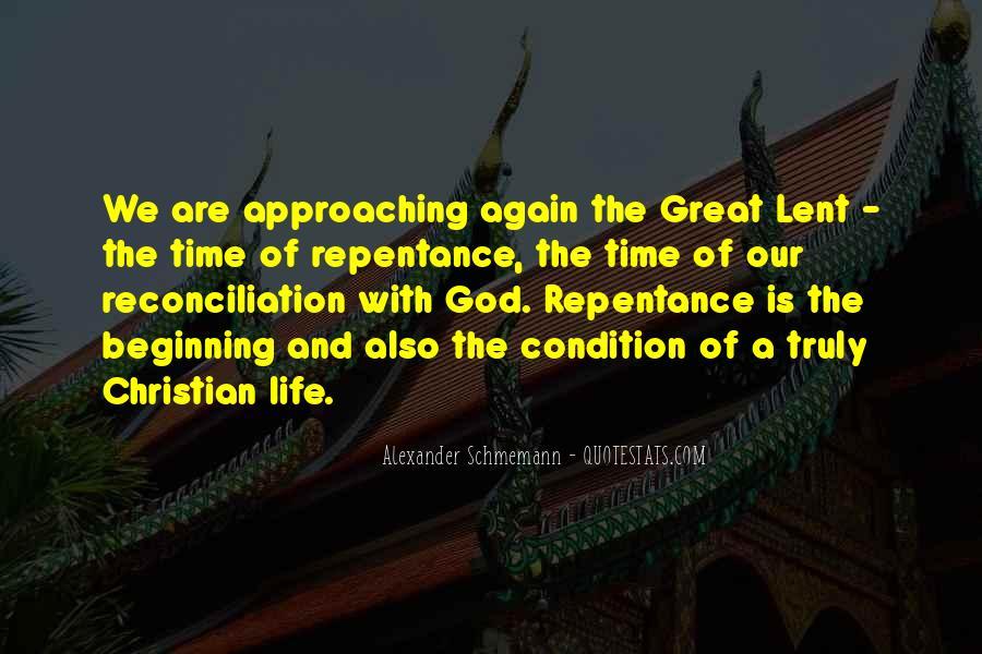 Beginning Of Lent Quotes #636664