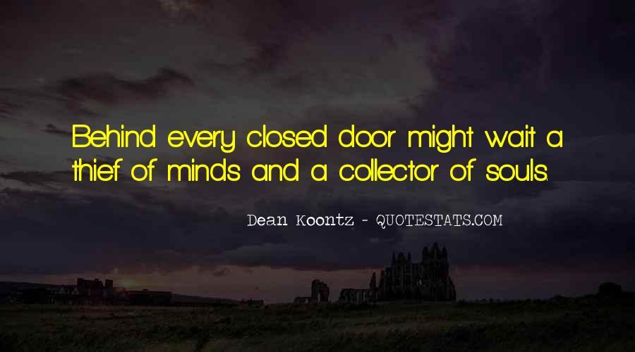 Behind Every Door Quotes #1368368