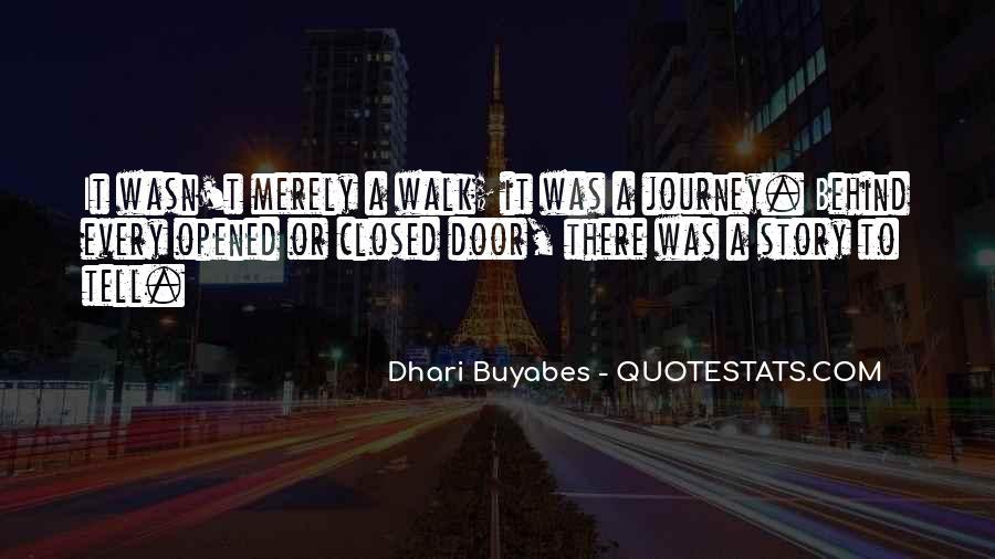 Behind Every Door Quotes #1668477