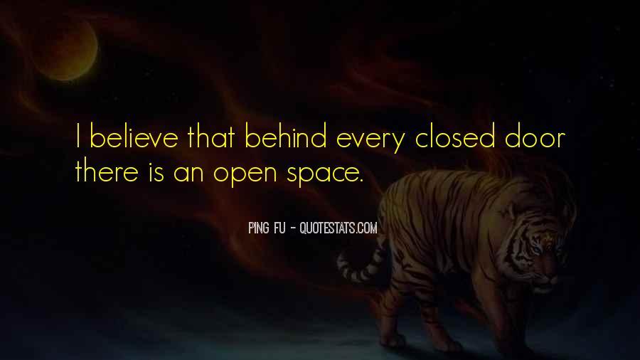 Behind Every Door Quotes #1829874