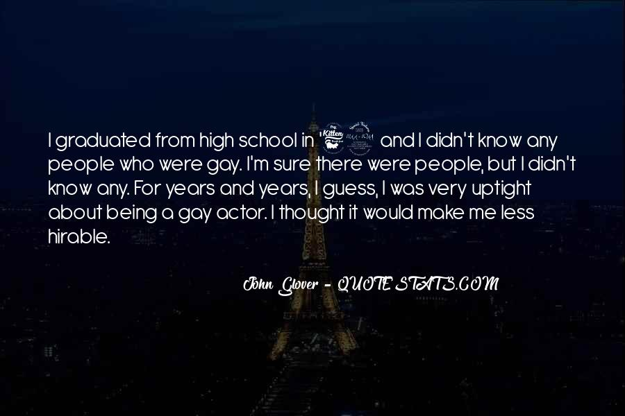 Being A Gay Quotes #200835