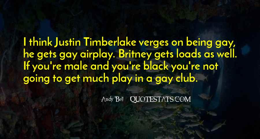 Being A Gay Quotes #261946