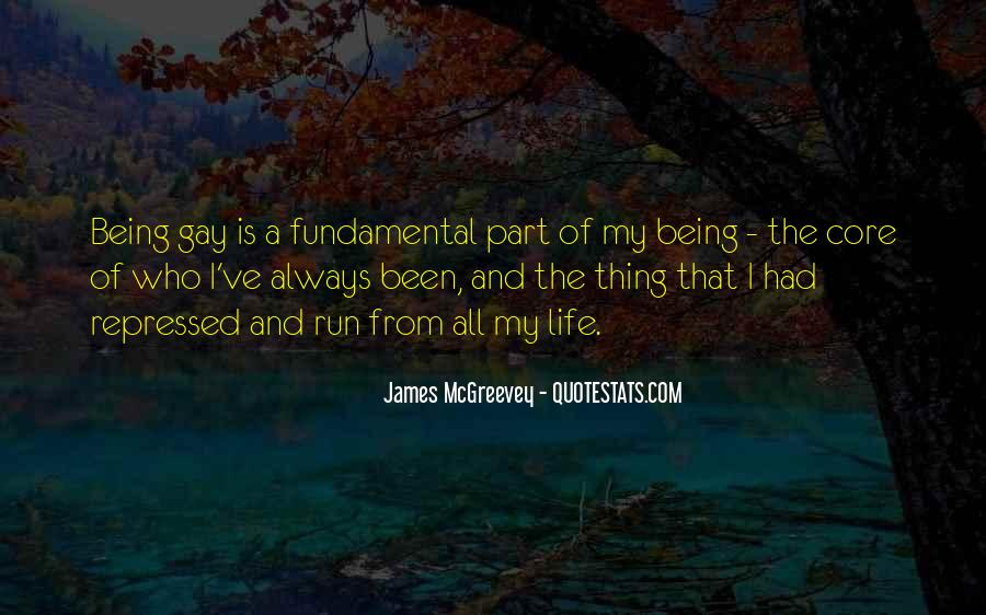Being A Gay Quotes #268944