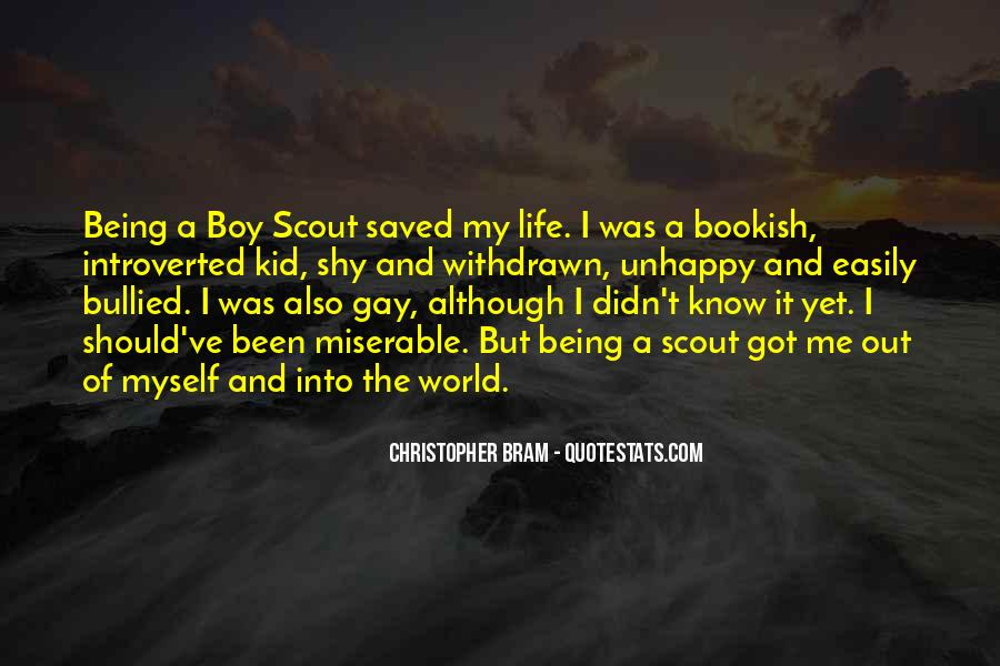 Being A Gay Quotes #296284