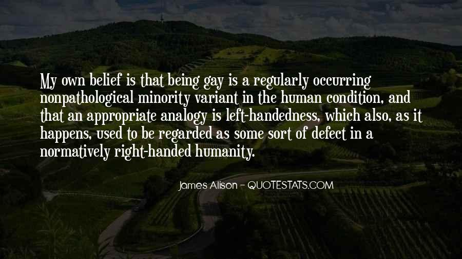 Being A Gay Quotes #299585