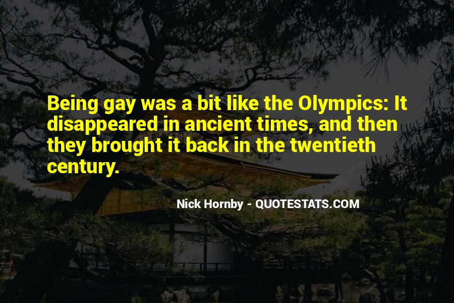 Being A Gay Quotes #428022
