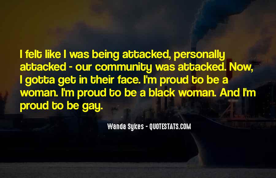 Being A Gay Quotes #474924