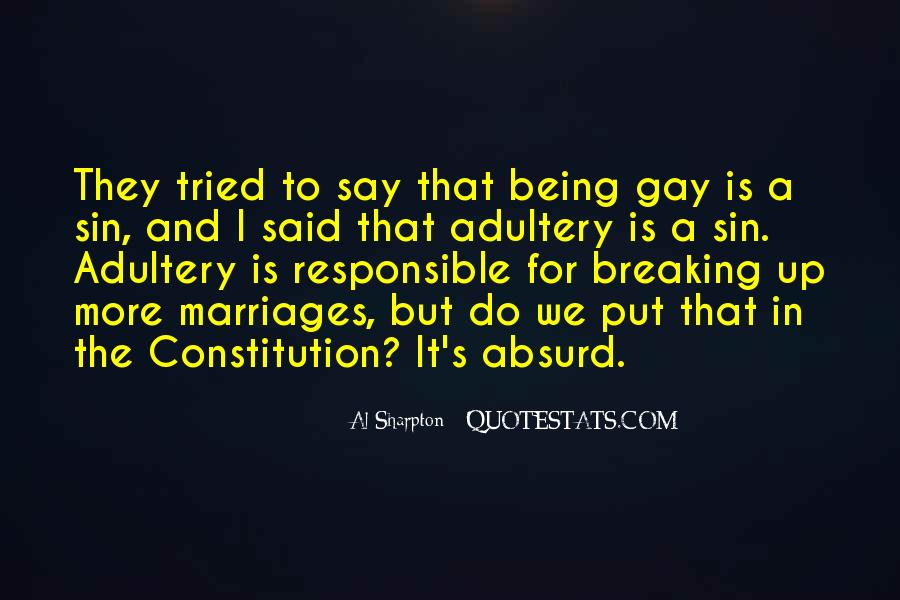 Being A Gay Quotes #511782