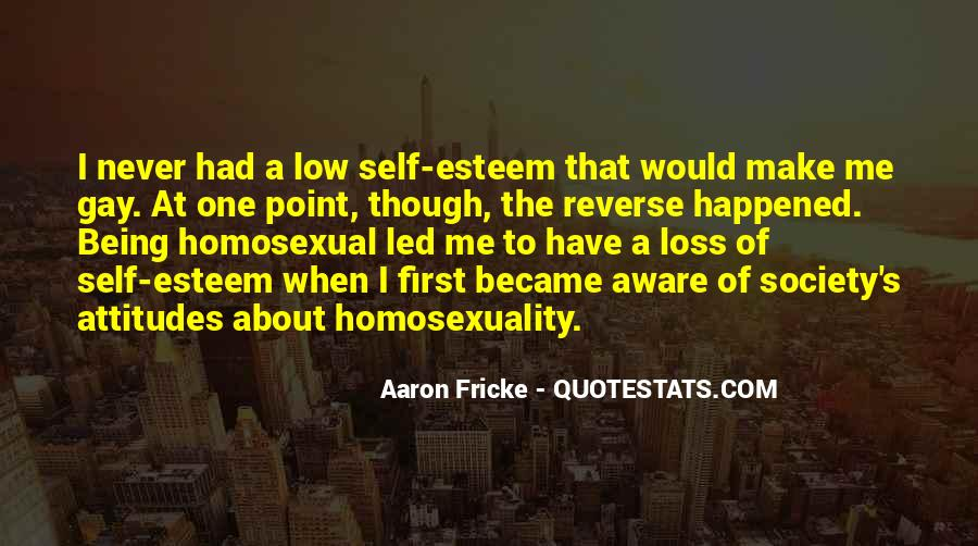 Being A Gay Quotes #634180