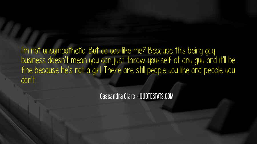 Being A Gay Quotes #748052
