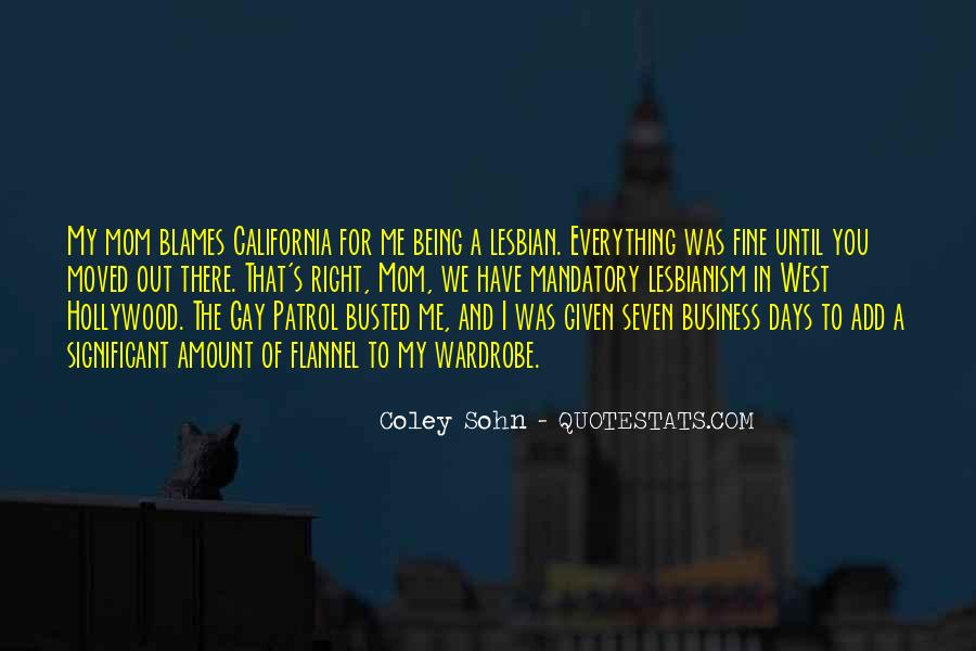 Being A Gay Quotes #807830