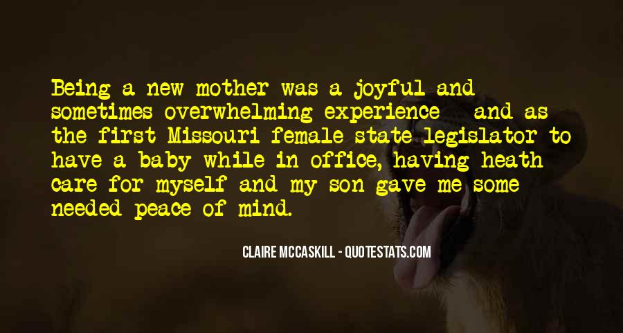 Top 9 Being A New Mother Quotes: Famous Quotes & Sayings ...