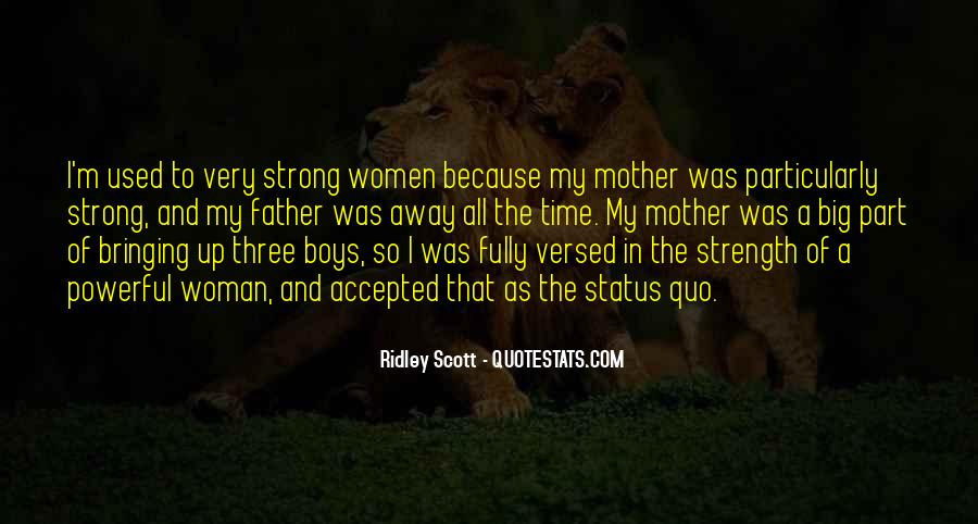Being A Strong Father Quotes #1252210