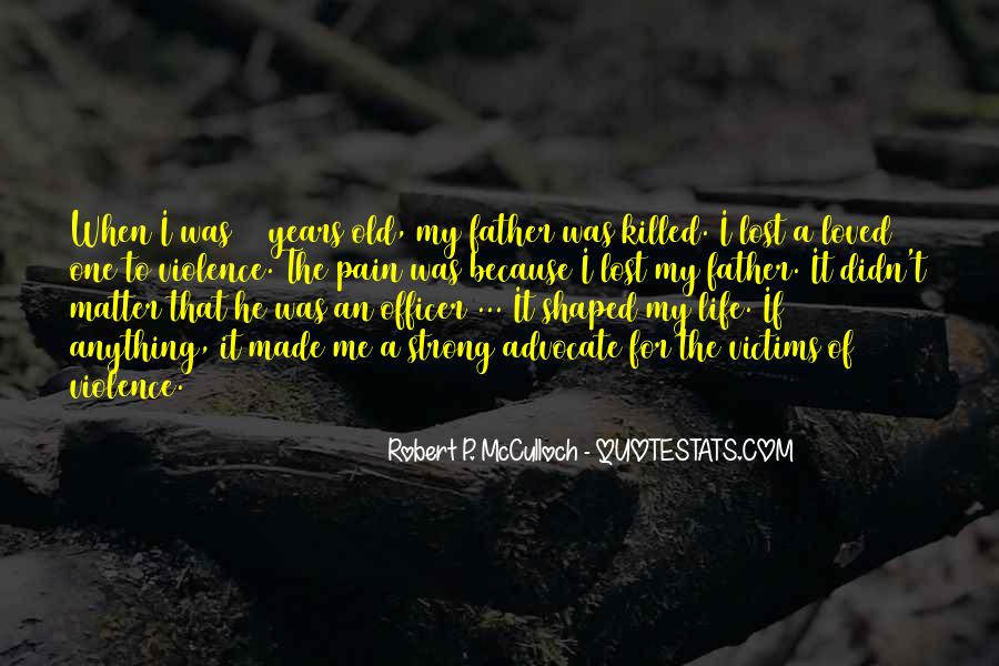 Being A Strong Father Quotes #284966