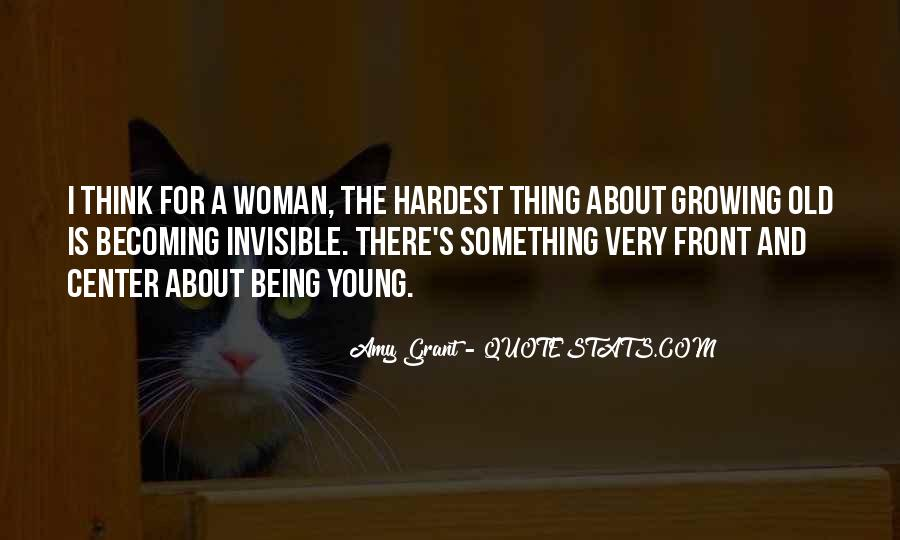 Being A Young Woman Quotes #1037033