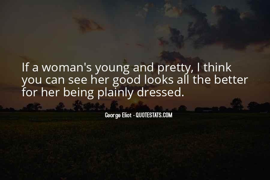 Being A Young Woman Quotes #1285851