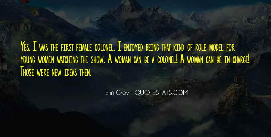 Being A Young Woman Quotes #1321338