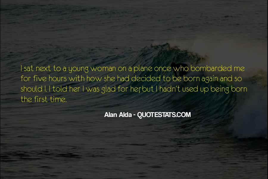 Being A Young Woman Quotes #1437482