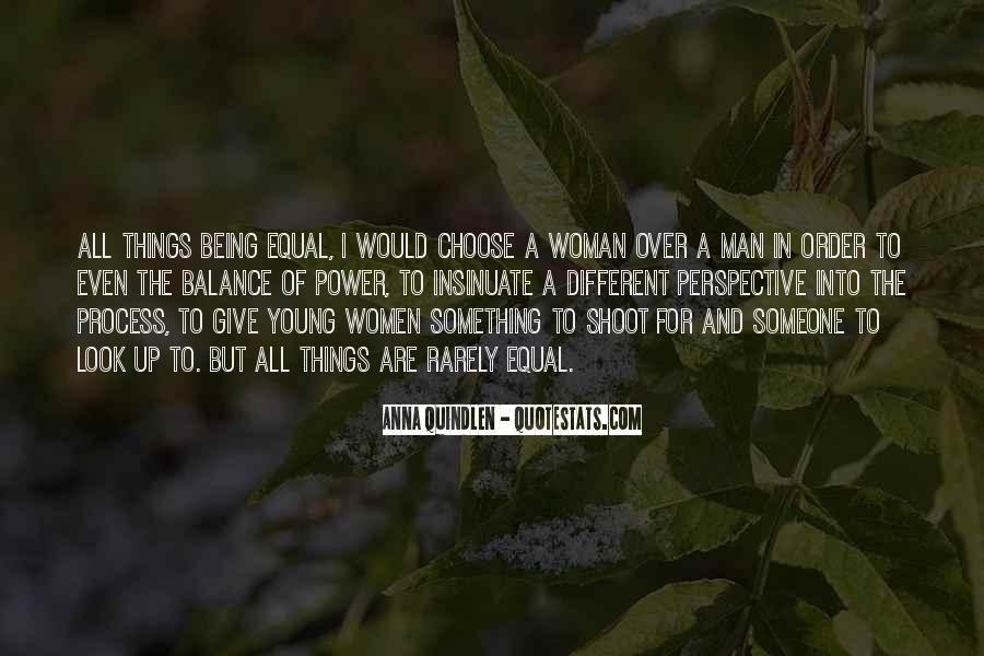 Being A Young Woman Quotes #193653