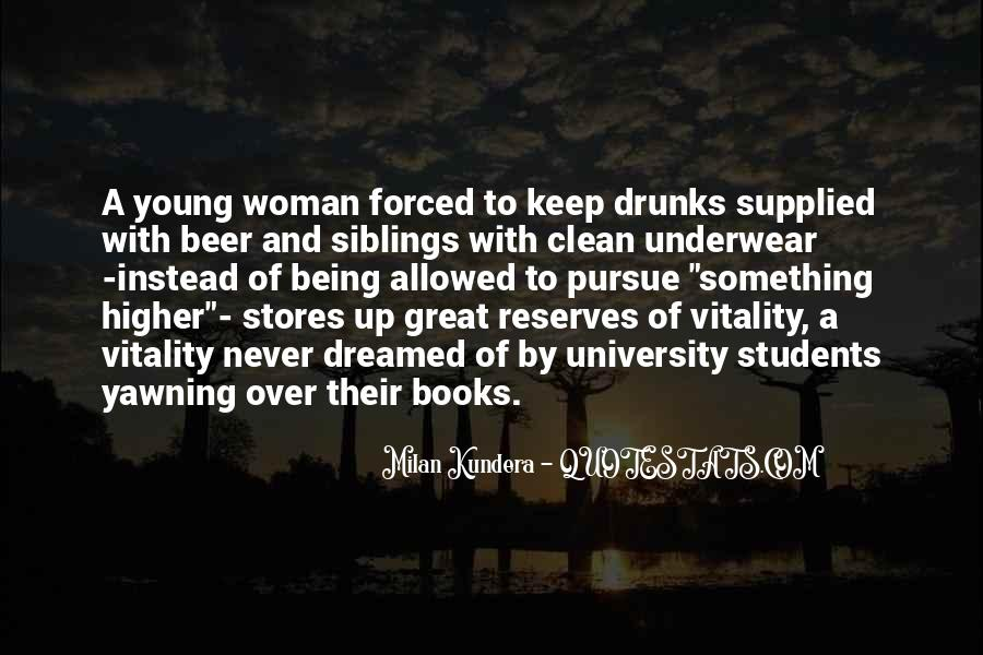 Being A Young Woman Quotes #926301