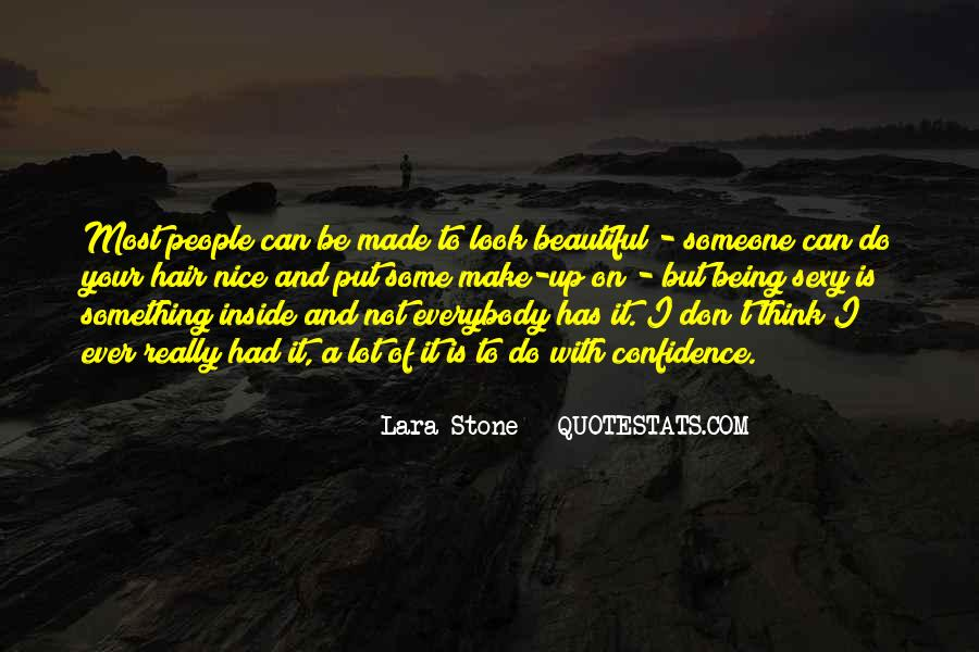 Being Beautiful Inside Quotes #986480