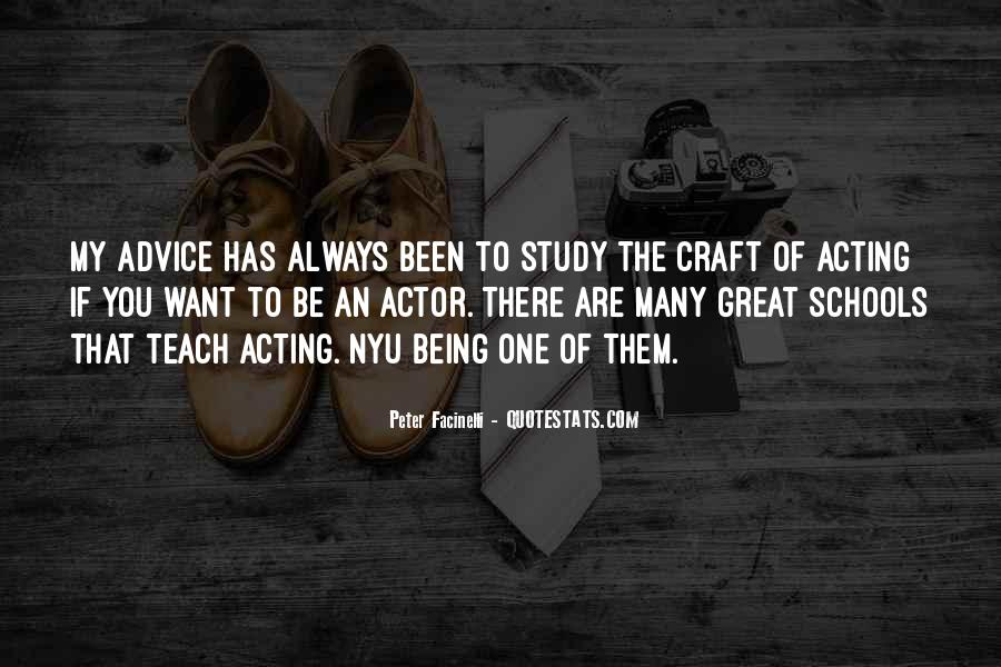 Being Great Quotes #11698