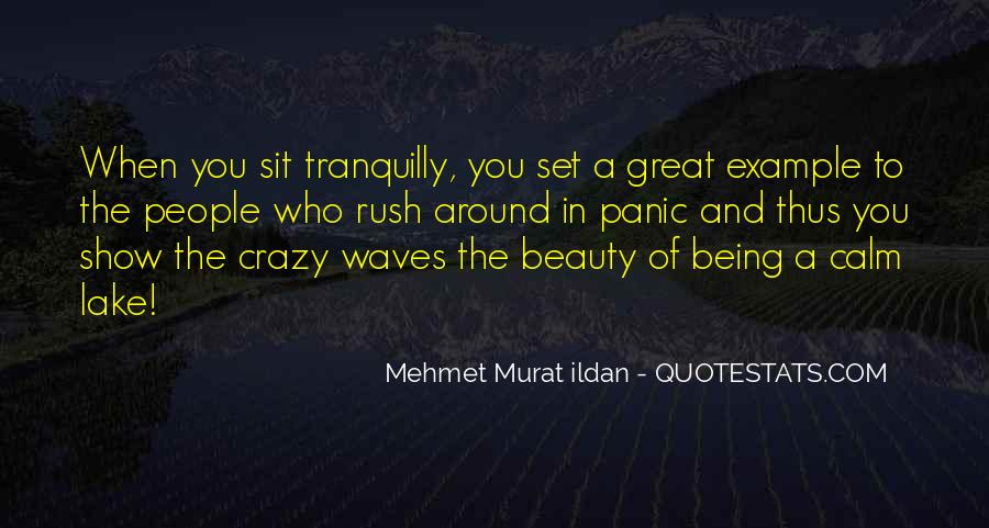 Being Great Quotes #14225