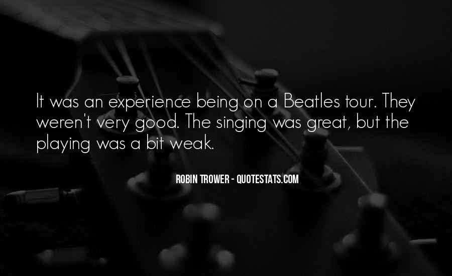Being Great Quotes #19548