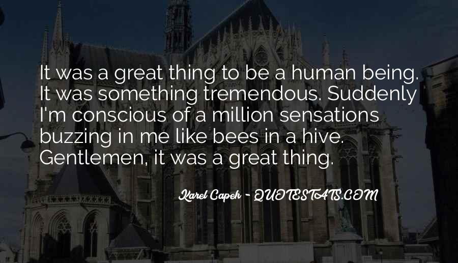 Being Great Quotes #26990
