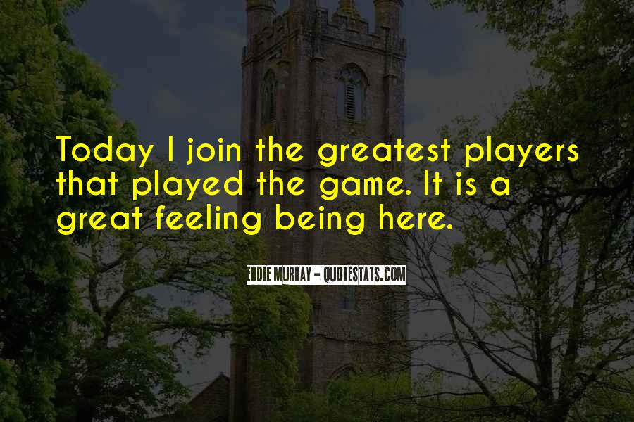 Being Great Quotes #39419
