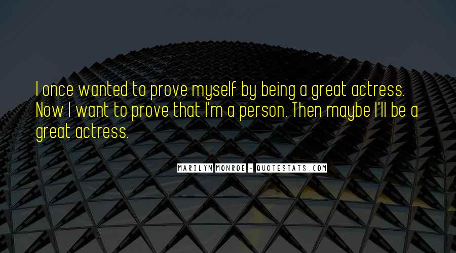 Being Great Quotes #79335