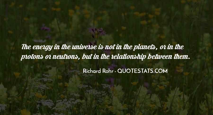 Quotes About The Universe Energy #203359
