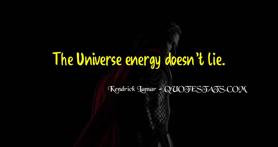 Quotes About The Universe Energy #888452