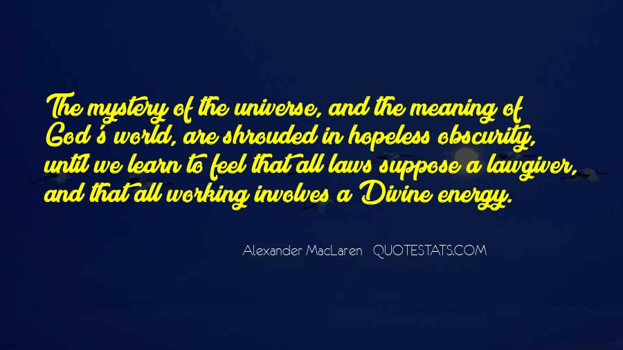 Quotes About The Universe Energy #904766