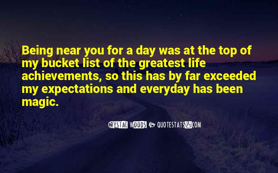 Being Near You Quotes #1322081