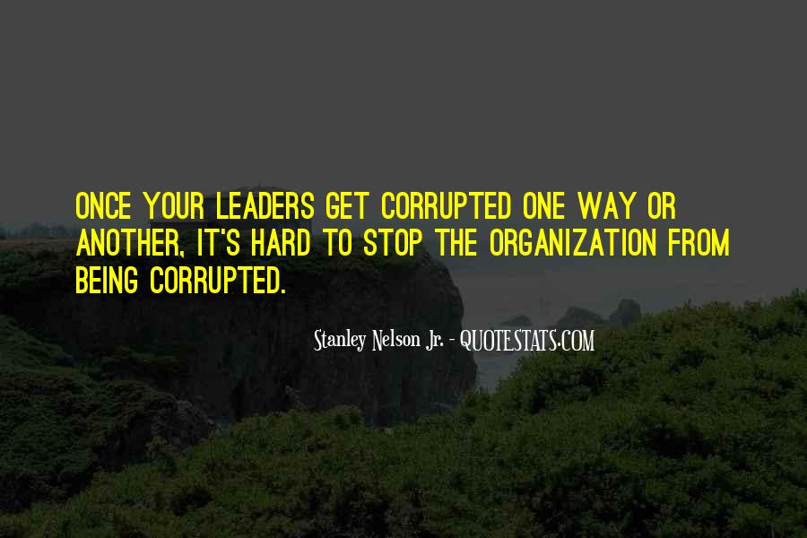 Being The Best Leader Quotes #110902