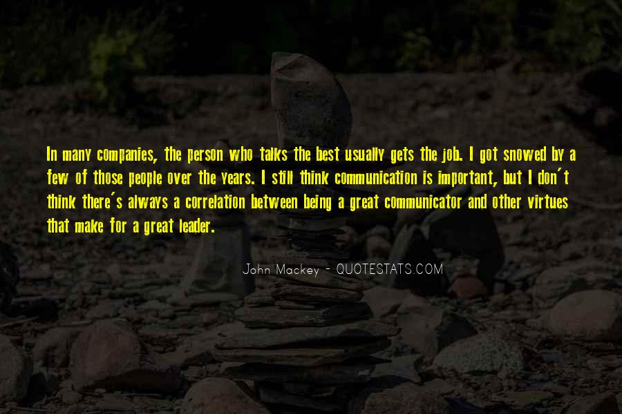 Being The Best Leader Quotes #1574544