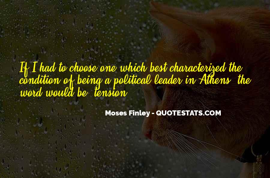 Being The Best Leader Quotes #1862028