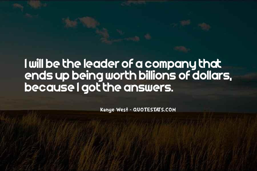 Being The Best Leader Quotes #200091