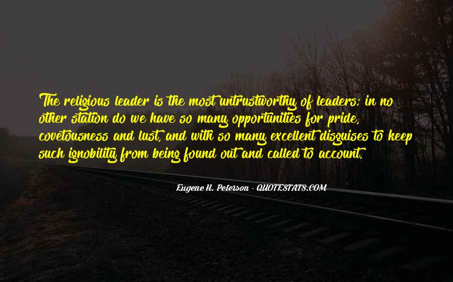 Being The Best Leader Quotes #220050
