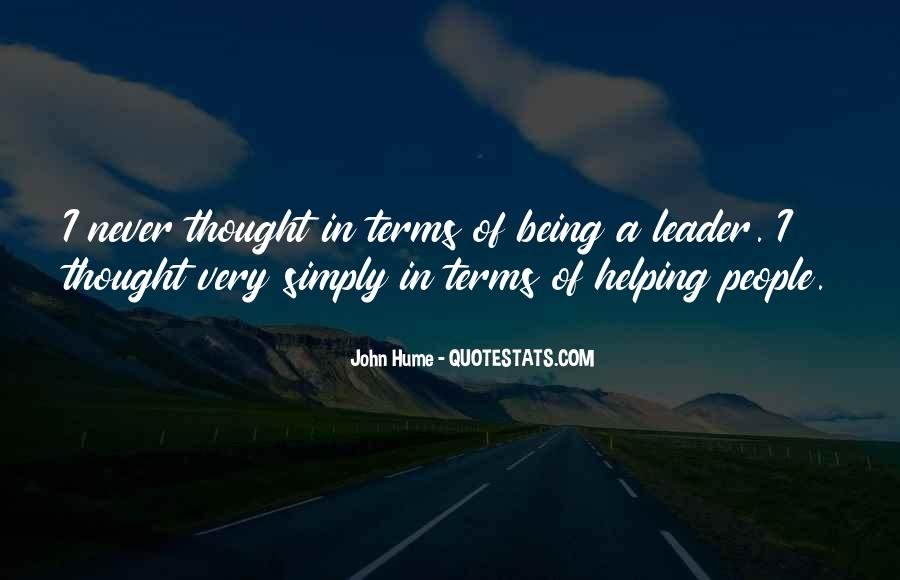 Being The Best Leader Quotes #225001